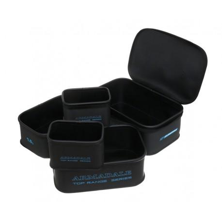 Pudełka EVA 5+1 cechowane na robaki i zanęty