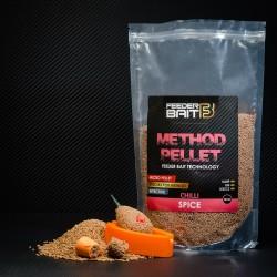 Micro Pellets Feeder Bait Spice 2mm Chili